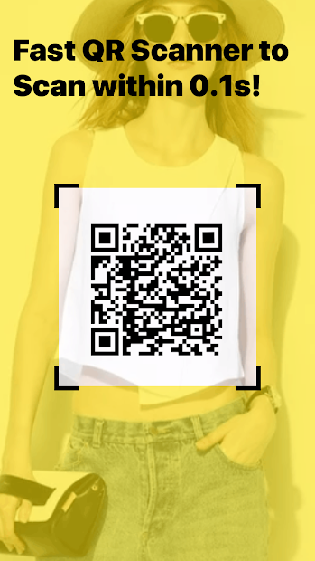 QR Code Reader & Barcode Scanner Android App Screenshot