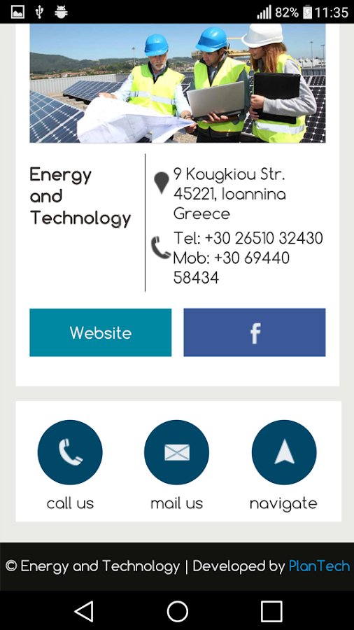 Energy and Technology- screenshot