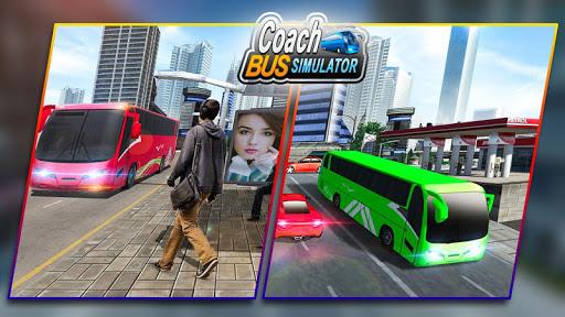 Coach Bus Simulator 2020: Modern Bus Drive 3D Game  Wallpaper 5