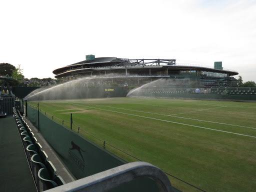 Wimbledon Tennis Court Sprinkers