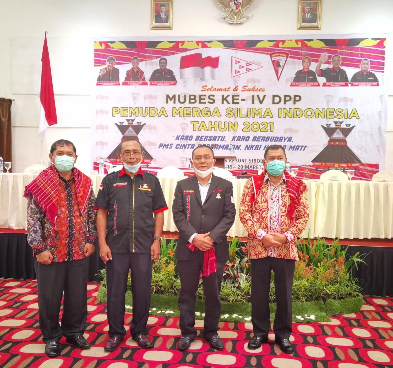 Bupati Karo dan Deliserdang Hadiri Mubes DPP PMS Indonesia ke IV tahun 2021