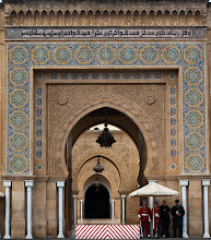 Photo: One of the Royal Palaces in Rabat