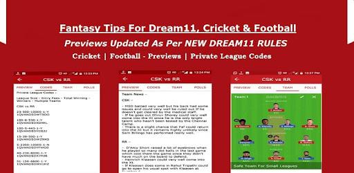 F11 - Fantasy Tips For Dream11, Cricket & Football - Apps on Google Play