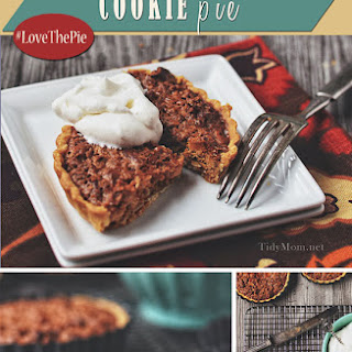 Peanut Butter Oatmeal Cookie Pie