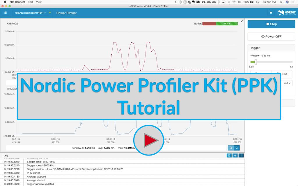 Nordic Power Profiler Kit (PPK) Tutorial Image