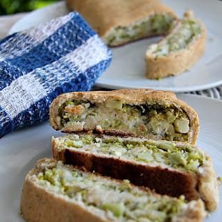 Broccoli & Blue Cheese Stromboli.