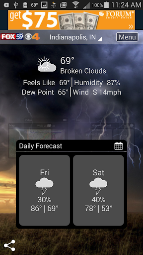The Indy Weather Authority 5.0.1100 Screenshots 1
