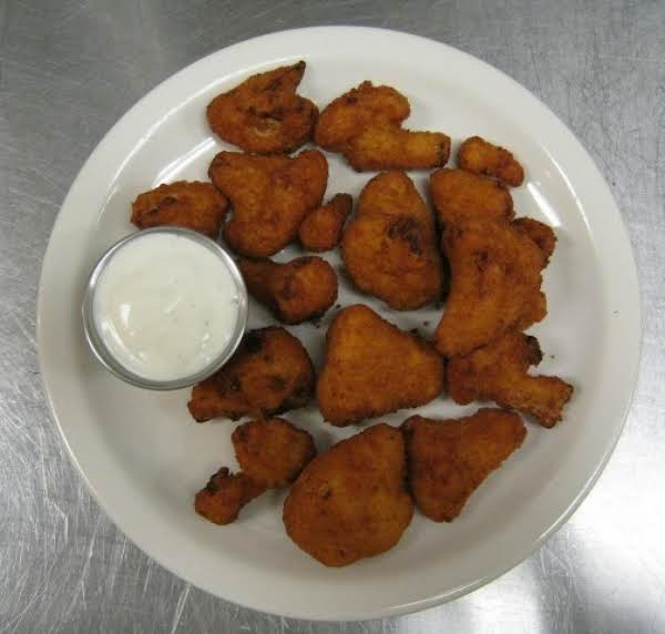 Deep Fried Cauliflower With Dill Pickle Aioli