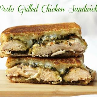 Pesto Grilled Chicken Sandwich