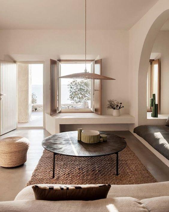 LeAnne Bunnell Calgary interior design fall trends hanging basket lighting with lightbulb
