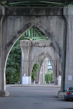Photo: Under the St. Johns Bridge.