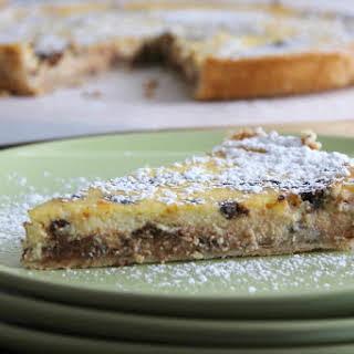 Ricotta Pie.