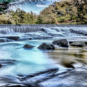 My Motto is Go With The Flow by Tony Munro - Landscapes Waterscapes ( #ndfilter, #walkingthedog, #tamron175028, #riverscape, #landscape, #longexposure, #walkinginthewoods, #riverbank, #dslrbeginner, #canon80d, #countrysideisfree, #movingwater, #downbytheriver, #riverroche, #tripod, #tripodrequired, #flowingwater )