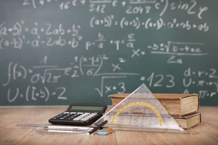 The department of basic education introduced the country's top three maths achievers on Tuesday.