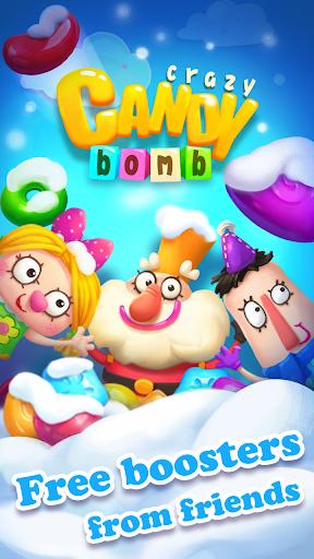 Crazy Candy Bomb - Sweet match 3 game screenshots 1