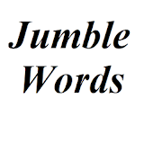 Jumble Word Puzzel Game