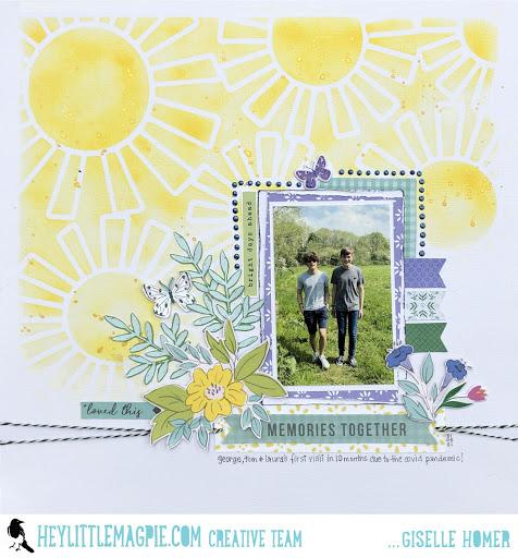 Pinkfresh Studios | Happy Blooms | Giselle Homer