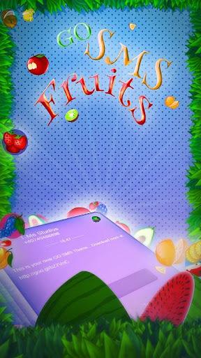 GO SMS Fruits