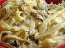 Kluski (polish Noodles And Sauerkraut) Recipe