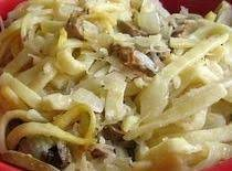 Kluski (polish Noodles And Sauerkraut) Recipe