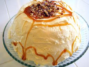 Photo: Pumpkin Praline Ice Cream Bombe