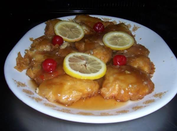 Chinese lemon chicken recipe 2 just a pinch recipes chinese lemon chicken recipe forumfinder Images