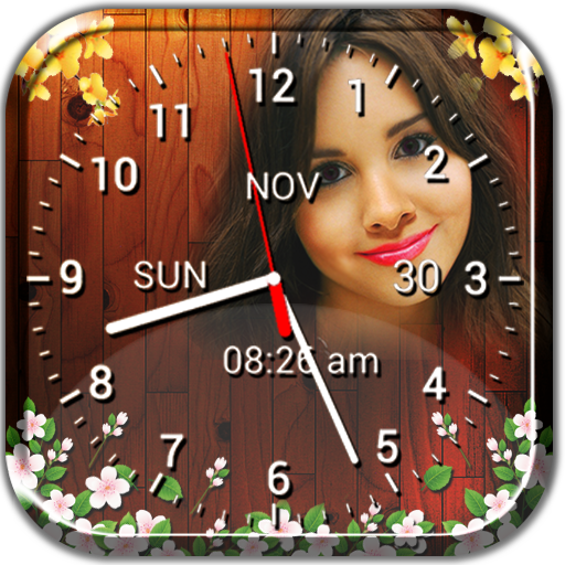 Photo Clock Live Wallpaper - Analog, Digital Clock - Apps on