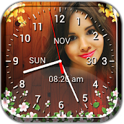 Photo Clock Live Wallpaper - Analog, Digital Clock
