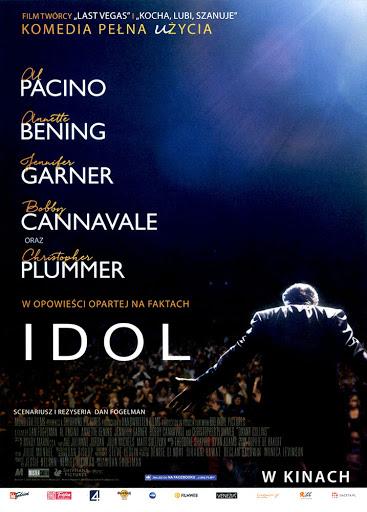 Przód ulotki filmu 'Idol'