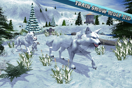 arctic wolf family simulator screenshot 1