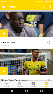 Oxford United Official App- screenshot thumbnail
