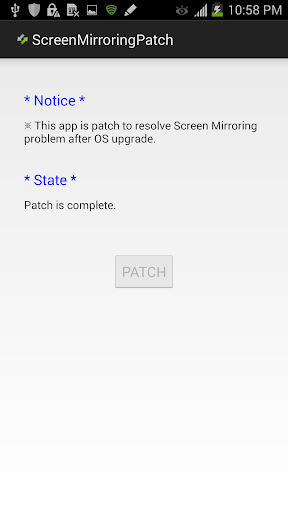 ScreenMirroring Patch screenshot 2