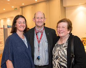 Photo: L-R: a Thomson daughter (?), Prof Nip Thomson and Mrs Barbara Thomson. http://www.med.monash.edu.au/cecs/events/2015-tr-symposium.html