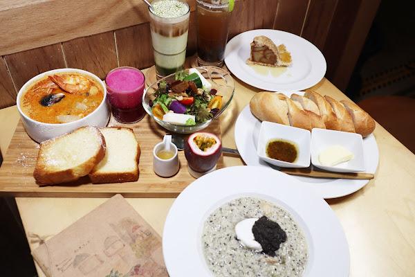 松果院子 Restaurant Pinecone,民生社區早午餐,富錦街美食,全時段早午餐,彷彿在自家後院,品嚐純天然餐點