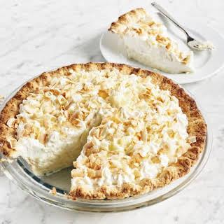 Triple Coconut Cream Pie.