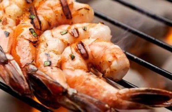 Grilled Shrimp With Mango Barbeque Sauce Recipe