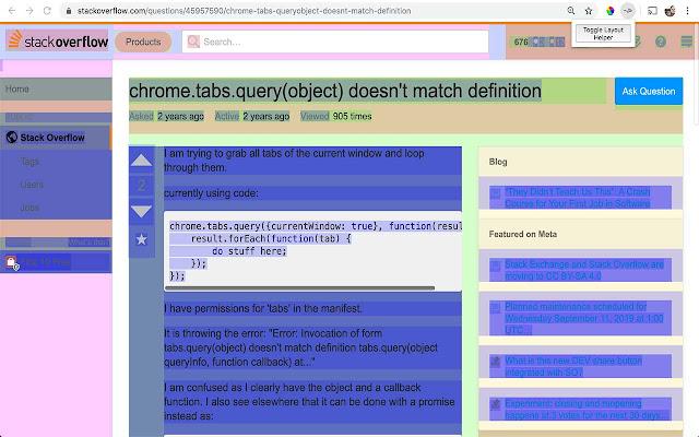 CSS Layout Helper