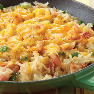Cheesy Hash Browns.
