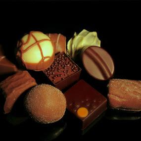 CHOCOLATES by Karen Tucker - Food & Drink Candy & Dessert ( yummy, candy, luxury, thorntons, food, chocolate,  )