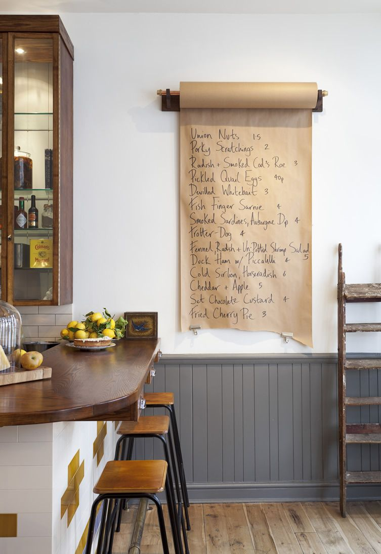 Pretty Menu to Express Your Cooking Talent