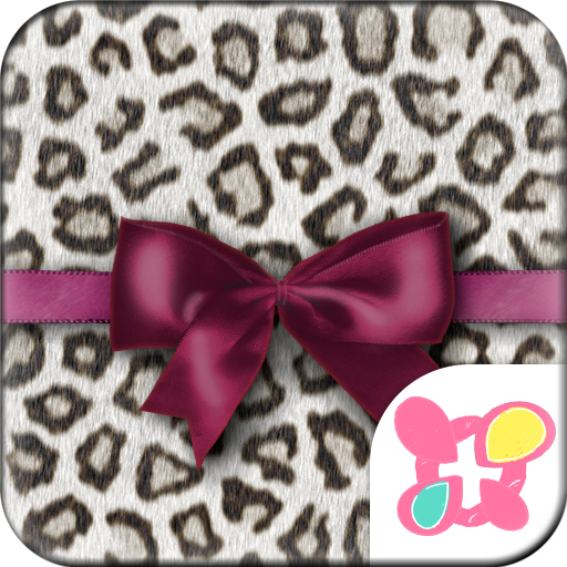 Fashion Theme Leopard & Ribbon Icon