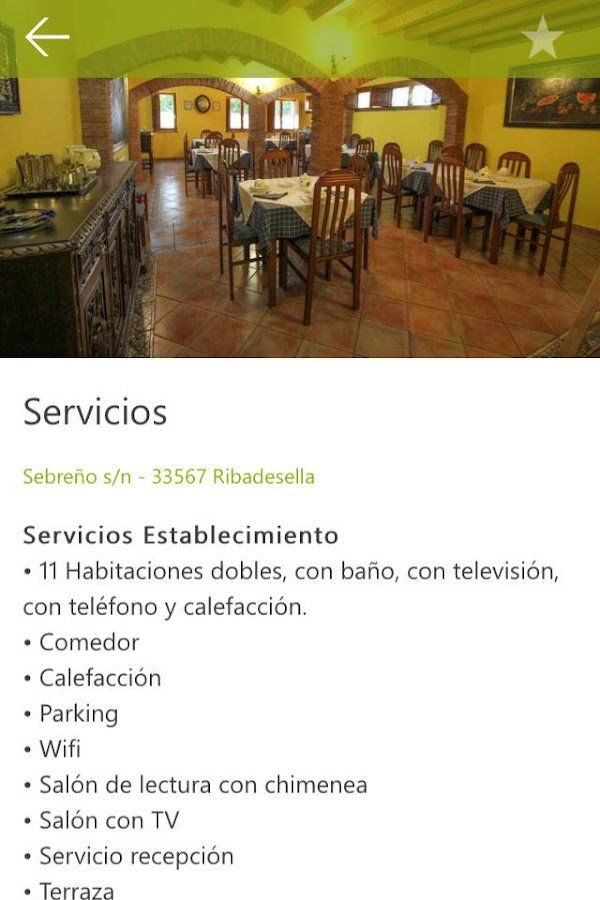 Hotel Rural La Biesca Sebreñu- screenshot
