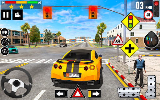 Car Driving School 2020: Real Driving Academy Test modavailable screenshots 9