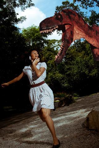 恐竜フォトステッカー
