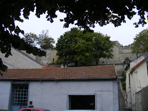 Photo: Some of the medieval town fortifications can be seen here.