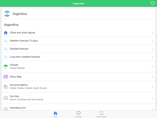 玩免費天氣APP|下載阿根廷天气,引导 app不用錢|硬是要APP