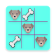 Dog Bone Toe ? - Tic Tac Toe Game ❌⭕ (game)