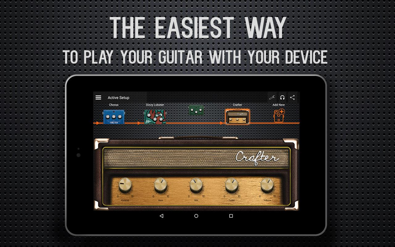 guitar amp effects deplike android apps on google play. Black Bedroom Furniture Sets. Home Design Ideas