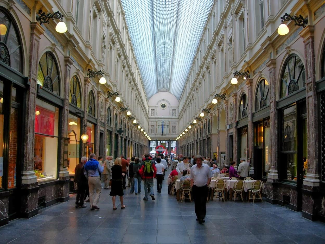 Galeries Royales Saint-Hubert à Bruxelles