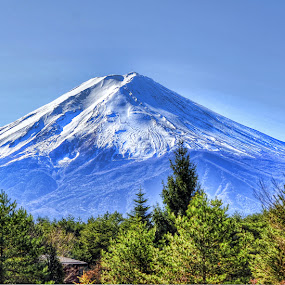 Fuji by Morris John John Uy - Landscapes Mountains & Hills